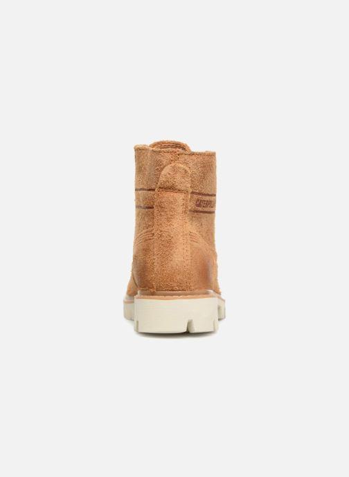 Bottines et boots Caterpillar Basis W Marron vue droite