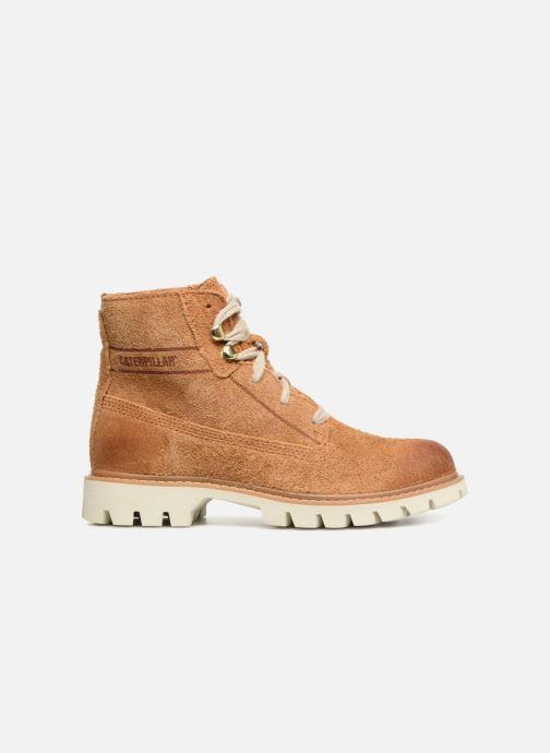 Bottines et boots Caterpillar Basis W Marron vue derrière