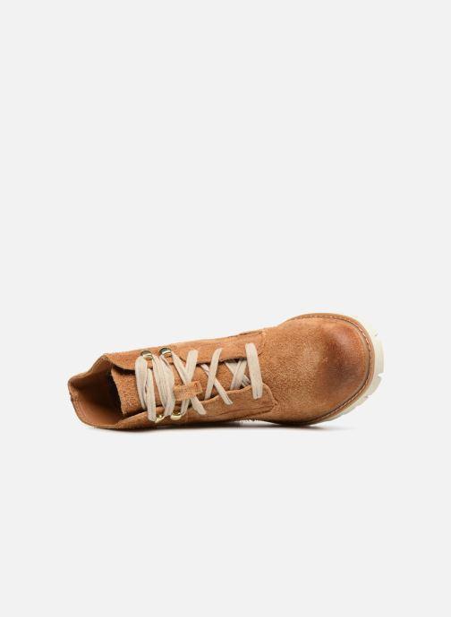 Bottines et boots Caterpillar Basis W Marron vue gauche