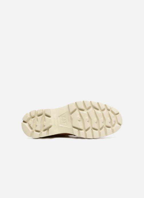 Stivaletti e tronchetti Caterpillar Basis W Marrone immagine dall'alto