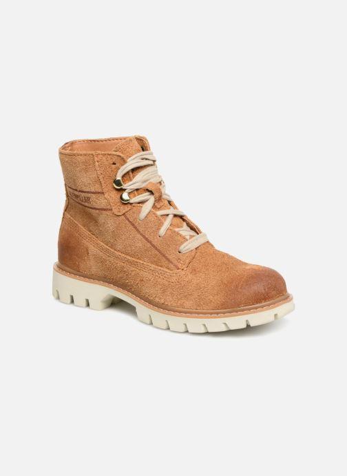 Bottines et boots Caterpillar Basis W Marron vue détail/paire