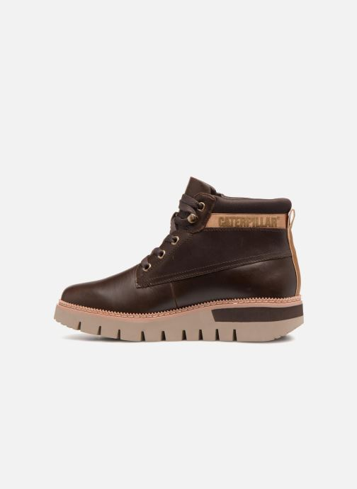 Bottines et boots Caterpillar Pastime Marron vue face