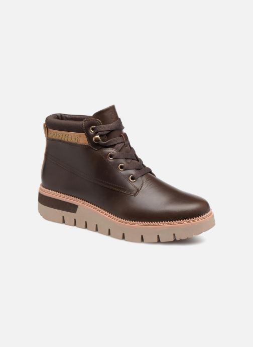 Bottines et boots Caterpillar Pastime Marron vue détail/paire
