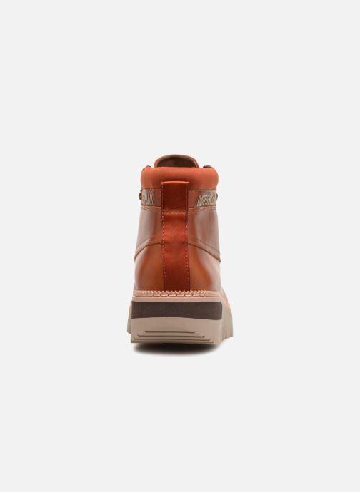 Bottines et boots Caterpillar Pastime Marron vue droite