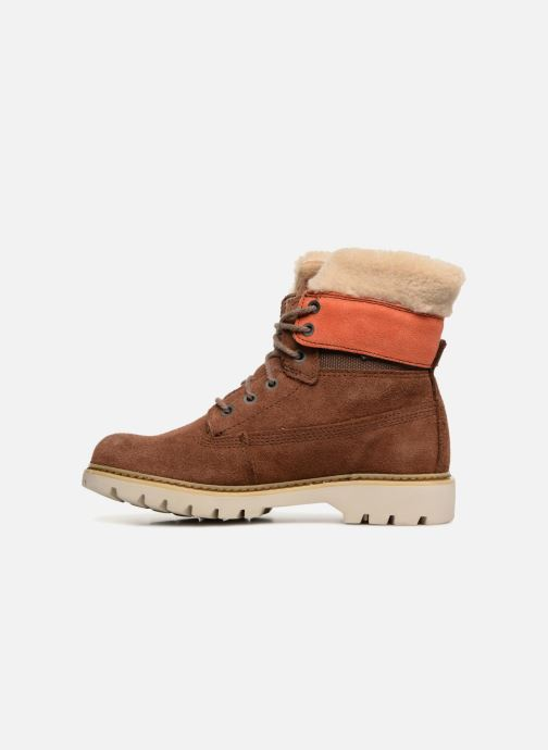 Bottines et boots Caterpillar Lookout Fur Marron vue face