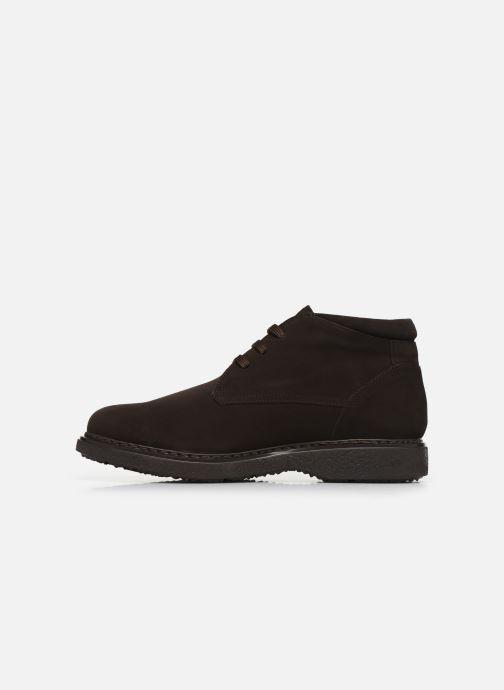Chaussures à lacets Callaghan Free Crep Marron vue face