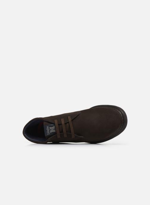 Zapatos con cordones Callaghan Free Crep Marrón vista lateral izquierda