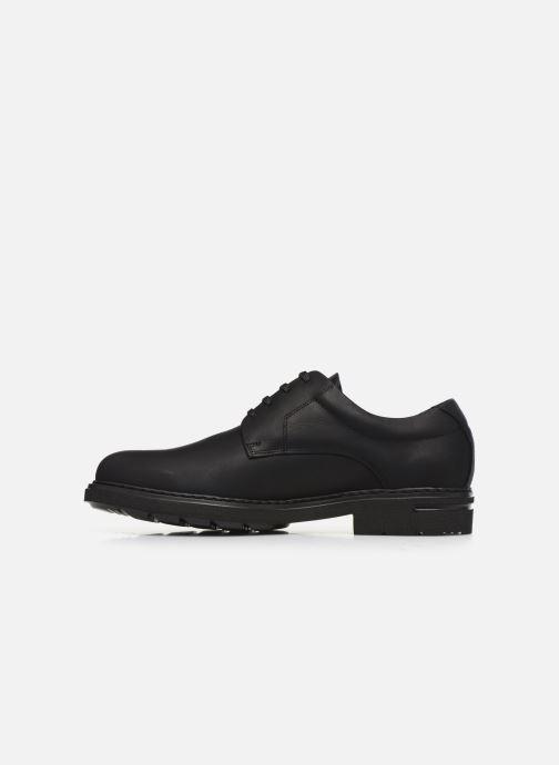 Chaussures à lacets Callaghan Pure casual Noir vue face