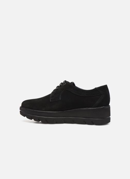 Lace-up shoes Callaghan Party line Black front view