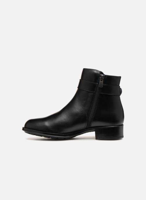 Bottines et boots Callaghan Ride Noir vue face