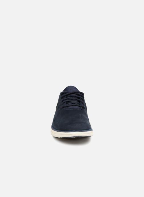 Baskets Timberland Bradstreet Perf'd PT Ox Noir vue portées chaussures