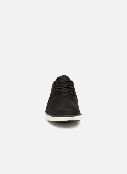 Sneakers Timberland Bradstreet Perf'd PT Ox Grigio modello indossato