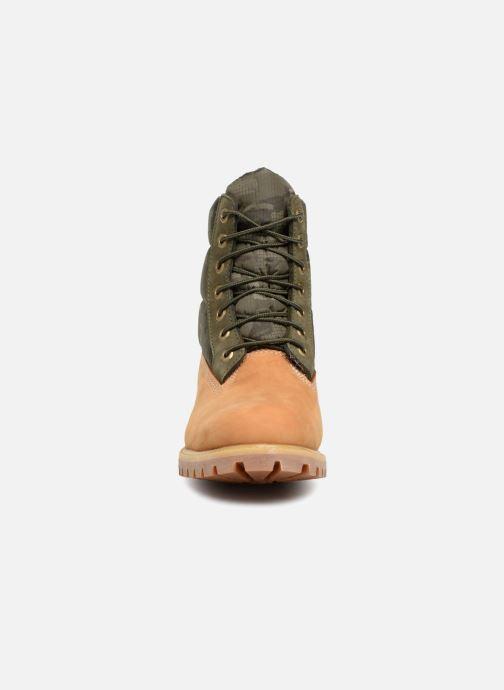 Bottines et boots Timberland 6 Inch Premium Puffer Bt Marron vue portées chaussures