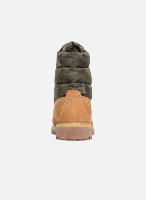 Bottines et boots Timberland 6 Inch Premium Puffer Bt Marron vue droite