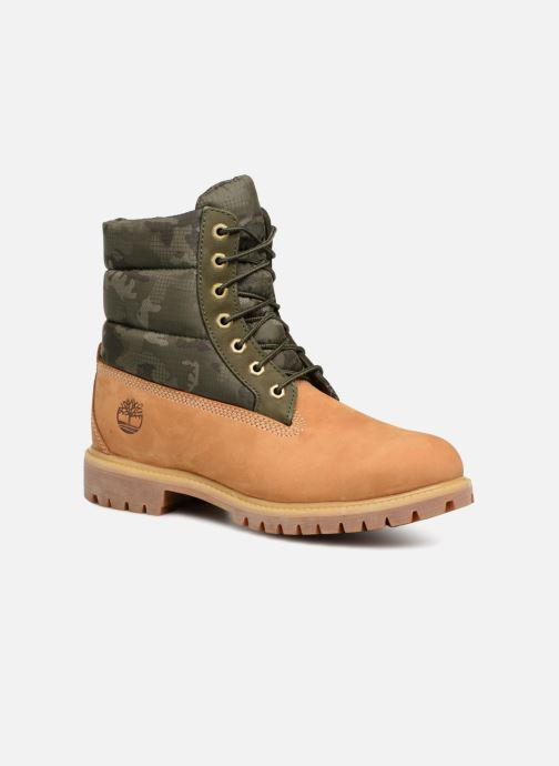 Bottines et boots Timberland 6 Inch Premium Puffer Bt Marron vue détail/paire