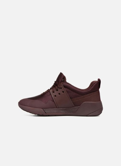 Trainers Timberland Kiri Up Knit Oxford Burgundy front view