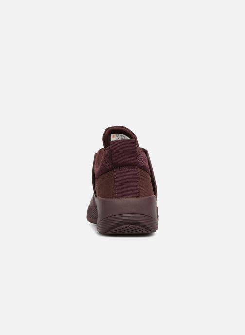 Trainers Timberland Kiri Up Knit Oxford Burgundy view from the right