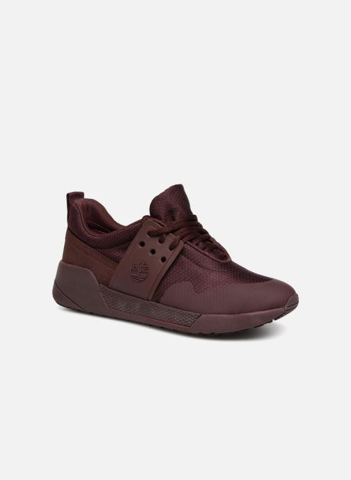 Trainers Timberland Kiri Up Knit Oxford Burgundy detailed view/ Pair view