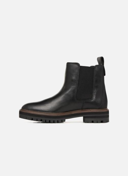 Ankle boots Timberland London Square Chelsea Black front view