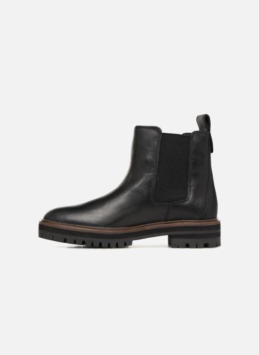 Bottines et boots Timberland London Square Chelsea Noir vue face