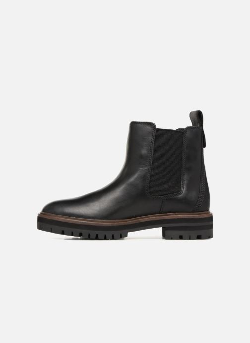 Bottines et boots Timberland London Square Chelsea Noir vue face