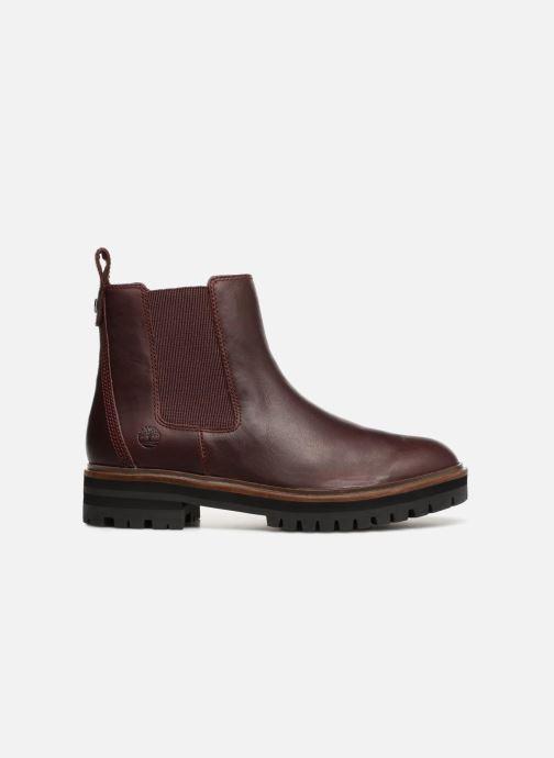 Bottines et boots Timberland London Square Chelsea Bordeaux vue derrière