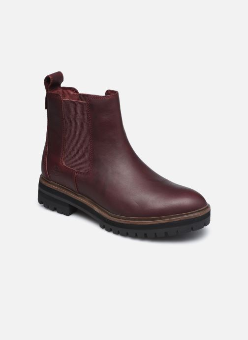Stiefeletten & Boots Timberland London Square Chelsea weinrot detaillierte ansicht/modell