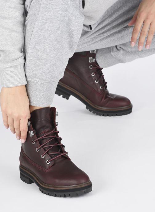 Boots en enkellaarsjes Timberland London Square 6in Boot Bordeaux onder