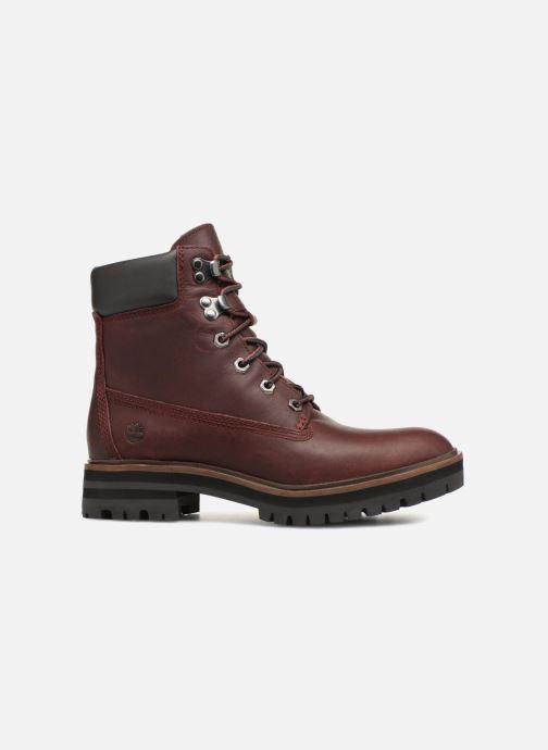 Boots en enkellaarsjes Timberland London Square 6in Boot Bordeaux achterkant