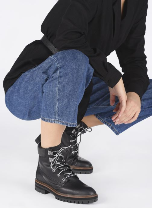 Ankle boots Timberland London Square 6in Boot Black view from underneath / model view