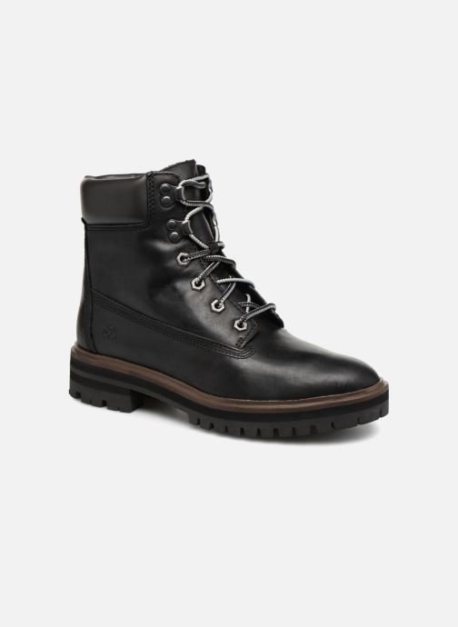 Ankle boots Timberland London Square 6in Boot Black detailed view/ Pair view