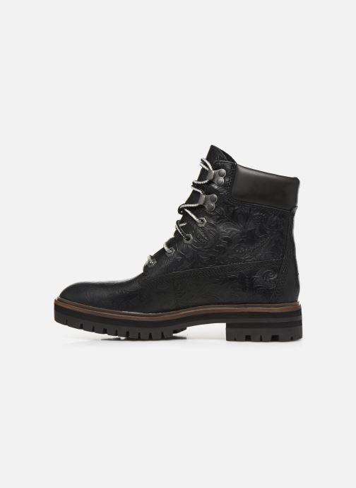 Boots en enkellaarsjes Timberland London Square 6in Boot Zwart voorkant