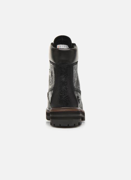 Boots en enkellaarsjes Timberland London Square 6in Boot Zwart rechts