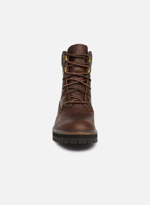 Ankle boots Timberland London Square 6in Boot Brown model view