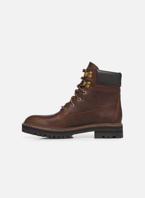 Ankle boots Timberland London Square 6in Boot Brown front view