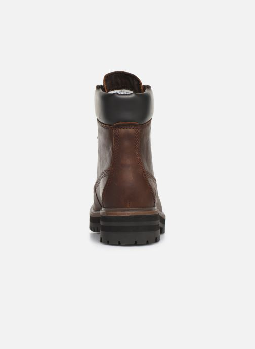 Ankle boots Timberland London Square 6in Boot Brown view from the right