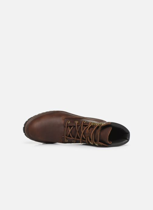 Ankle boots Timberland London Square 6in Boot Brown view from the left