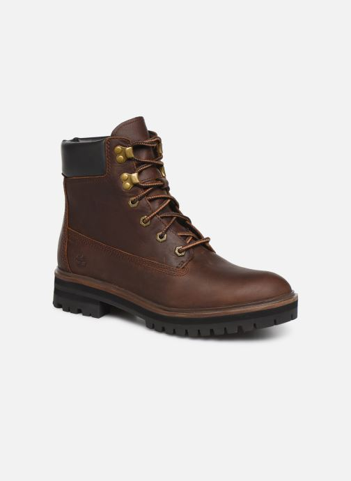 Ankle boots Timberland London Square 6in Boot Brown detailed view/ Pair view