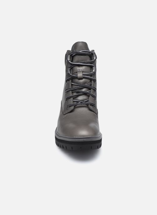 Botines  Timberland London Square 6in Boot Gris vista del modelo