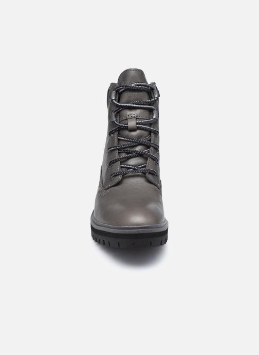 Boots en enkellaarsjes Timberland London Square 6in Boot Grijs model