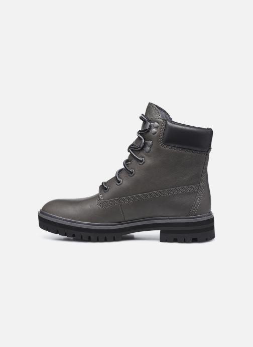 Boots en enkellaarsjes Timberland London Square 6in Boot Grijs voorkant