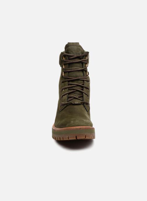 Bottines et boots Timberland Courmayeur Valley YBoot Vert vue portées chaussures