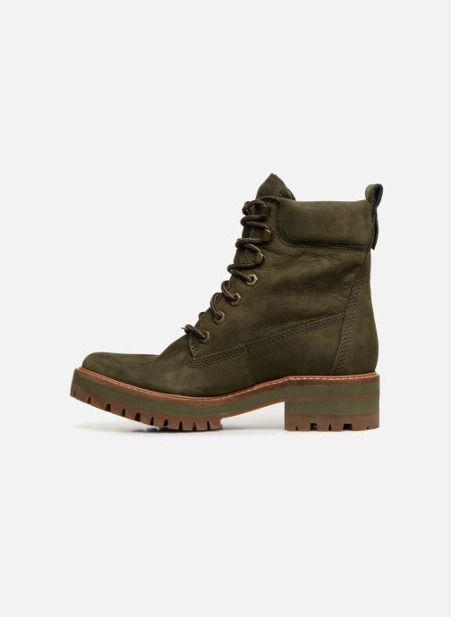 Bottines et boots Timberland Courmayeur Valley YBoot Vert vue face
