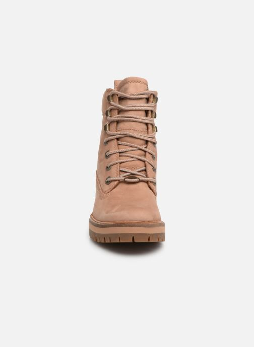 Bottines et boots Timberland Courmayeur Valley YBoot Marron vue portées chaussures