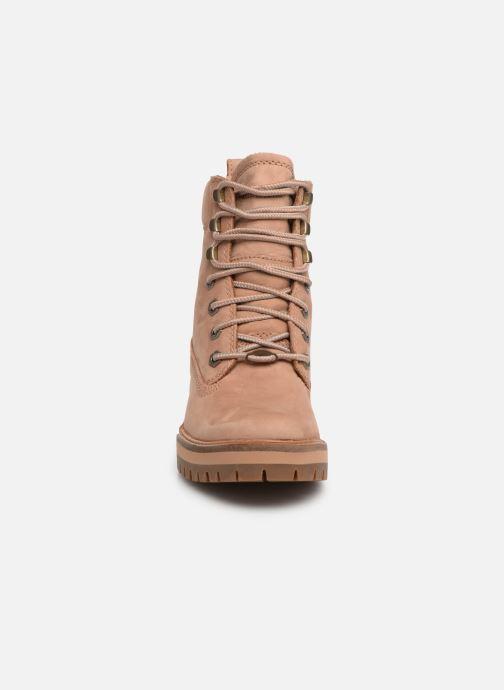 Bottines et boots Timberland Courmayeur Valley YBoot Marron vue portées chaussures