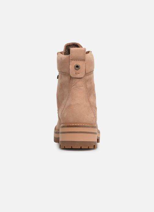 Boots en enkellaarsjes Timberland Courmayeur Valley YBoot Bruin rechts