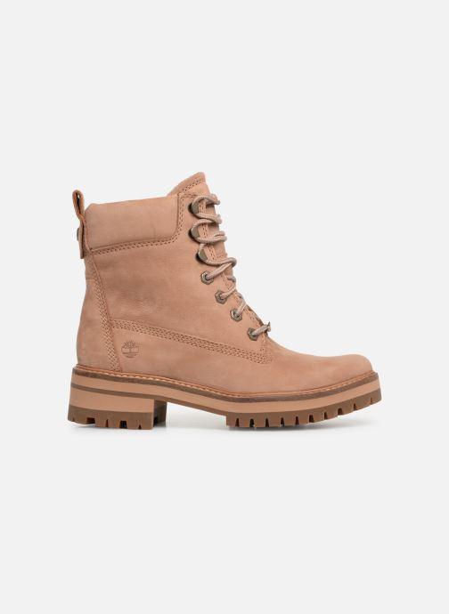 Bottines et boots Timberland Courmayeur Valley YBoot Marron vue derrière