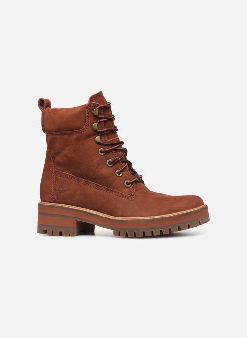 Boots en enkellaarsjes Timberland Courmayeur Valley YBoot Rood achterkant