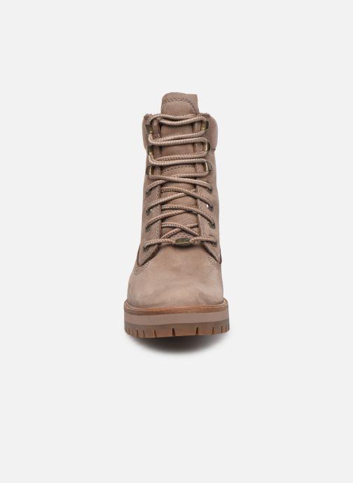 Bottines et boots Timberland Courmayeur Valley YBoot Beige vue portées chaussures