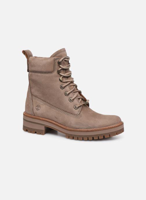 Boots en enkellaarsjes Timberland Courmayeur Valley YBoot Beige detail